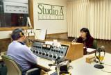 News Director Dean Norton in New Studio A