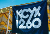 KCYX Banner Used at Remotes and Sports Broadcasts