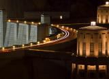 Night Lights At Hoover Dam