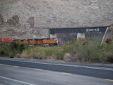 Morning Train West out of Kingman