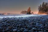 Ruby Beach - On The Rocks