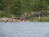 Bron mellan Långön och Björkskär
