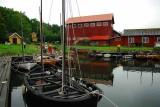 Och kikade på de vackra allmogebåtarna.