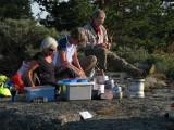Kerstin, Eva-Lena och Lars-Åke
