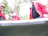 Vi satte på självutlösaren och slängde kameran i sjön, den flöt & resultatet blev detta,