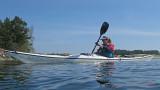Fin paddling hemmåt oxå