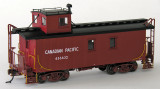 Canadian Pacific wood caboose