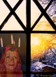 Happy Lucia day (13th Dec) -  triangles