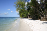 7 kilometers of untouched beach
