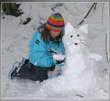 sneeuwpoes ..