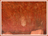Rock Art. Uluru.