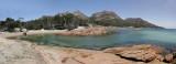 Honeymoon Bay. Freycinet National Park. Tasmania