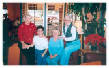 Jan, Irene, Sherry and Jean Christmas