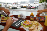 Lunch at the Marina in Golfito