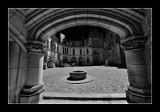 Cour - chateau de Pierrefonds