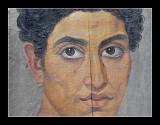 Fayum mummy portrait - 50-300 AD British Museum (EPO_7260)