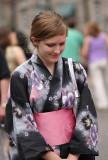 American in a Kimono