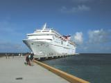 Docked at Grand Turk