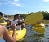 Kayak Traffic Jam