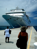 Leaving Grand Turk Island