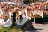 Sculpture and apartments, Miraflores