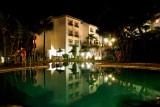 'Our pool' at night! Miraflores