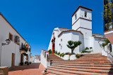 Steps and church, Cartajima