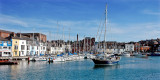 Leaving the harbour, Weymouth, Dorset