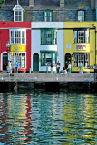 Reflections, harbourside, Weymouth, Dorset