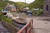 Jumble of boats, Crovie