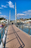 Harbour bridge, Torquay, Devon