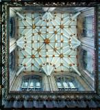 York Minster ~ tower ceiling