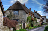 Thatched houses, Queen Camel, Somerset (4320)