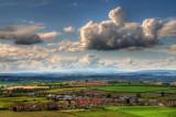 Clouds and football, Stoke-sub-Hamdon
