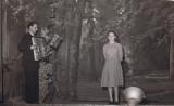 A Wisches, papa participe quelques fois aux soirées du club théatral