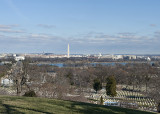 Vista from Arlington Cemetery