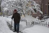 Round 2: My husband, the experienced snow shoveler