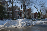 Day after: Some roads OK; pedestrian nightmare
