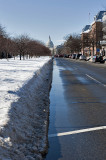 Day after: One well-plowed street