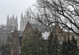 National Cathedral thru the snow