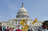 Tea Party protest at the Capitol