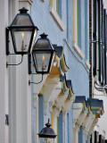 Gas lights in Alexandria