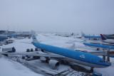 2010 Het sneeuwt @ Amsterdam Airport Schiphol
