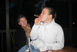 cigars on the deck