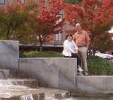 Mark  Patty at the Wenatchee Fountain