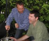 Markus & Scott...inept keg tappers