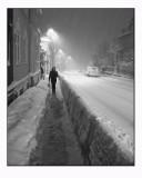 Heavy snow..........