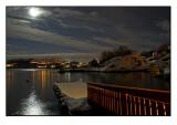 Moonlit snowscape # 3