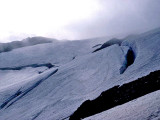 Packwood Glacier In 1977 ( Yes, You Walked On A Living Glacier In 77 )