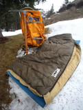 Camp 7  Polarguard Sleeping Bag